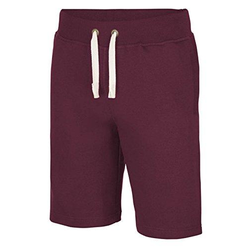 AWDis -  Pantaloncini sportivi  - Uomo Burgundy
