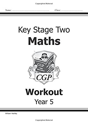 KS2 Maths Workout - Year 5 (CGP KS2 Maths) from Coordination Group Publications Ltd (CGP)