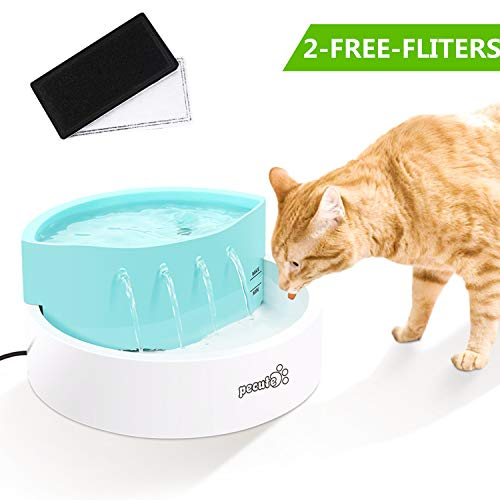 Pecute Fontana per Gatto,45DB Ultra-Quiet Automatic Circulation, per Gatti e Cani