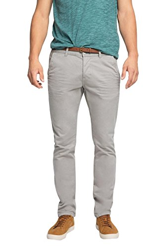 edc by ESPRIT Herren Hose 076CC2B005, Grau (Medium Grey 035), W33/L34