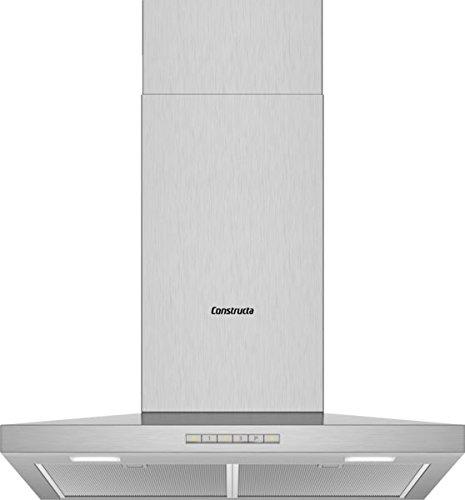 CONSTRUCTA CD626250 Wandhaube/Edelstahl / 60 cm/LED Beleuchtung
