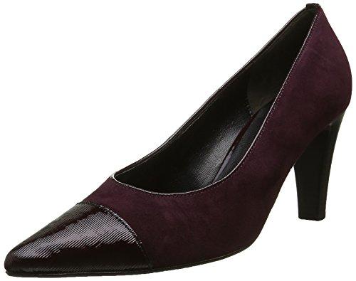 Gabor Shoes Fashion, Scarpe con Tacco Donna Rosso (New Merlot/Merlot 15)