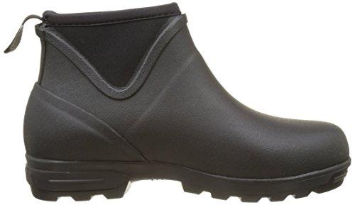 Aigle Landfor, Chaussures de Randonnée Basses Femme Noir