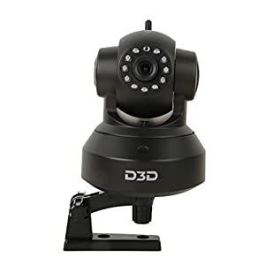 D3D Wireless HD IP WiFi CCTV Indoor Security Camera (Support Upto 128 GB Micro SD Card) Model:D8801