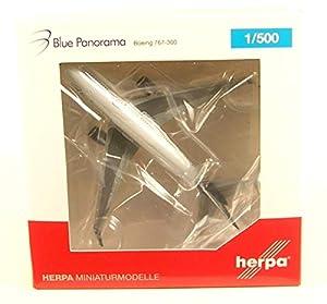 Herpa 531559 B767-300 - Panorama de Color Azul