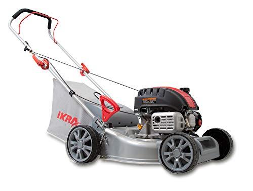 IKRA Benzin Rasenmäher IBRM 40-Z130 4-Takt-Motor Fangsack 40l Schnittbreite 40,5cm