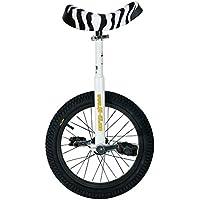 """MONOCICLO QU-AX LUXUS 16"""" BIANCO uniciclo unicycle"""