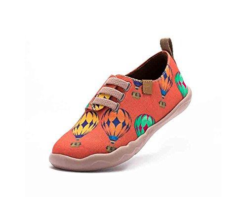 UIN Ballon d' enfance Chaussures de toiles casual orange pour enfant (petit enfant) (26)