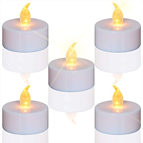 Led Kerzen 24 Stuck Led Teelichter Kerzen Cr2032 Batterie Betrieben