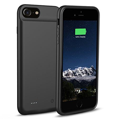 3000mAh Akku Hülle für iPhone 8 / iPhone 7 / iPhone 6 / 6s - OSSKY Ultradünnes Schnelle Laden Battery Case, Lightning Akku Case, Power Bank Case für Apple iPhone 8/7 / 6 / 6s - 4.7 Zoll ladehülle