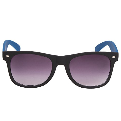 Louis Geneve Stylish & Fashionable Sunglasses for Men Wayfarer LG-SM-88-B-BLUE-GREY  available at amazon for Rs.139