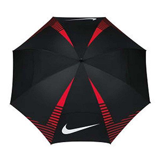 Nike Wind Sheer Lite Parapluie de golf, noir/rouge/blanc
