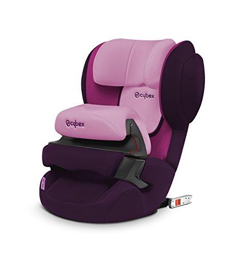 Cybex Silver Juno 2-fix, Autositz Gruppe 1 (9-18 kg), purple rain