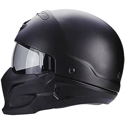 Scorpion Casque Moto exo-combat, Matt Black, XS