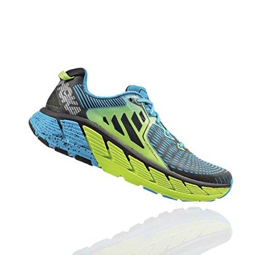 Hoka GAVIOTA, Scarpe running uomo, BrightGreen/Blue BrightGreen/Blue