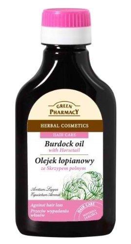 Aceite Anticaída, estimulador del crecimiento a base de Raiz de Bardana y Cola de Caballo 100 ml Green Pharmacy