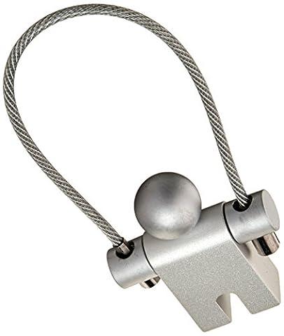 Troika Jumper Schlüsselring Aluminium mit Drahtschlaufe