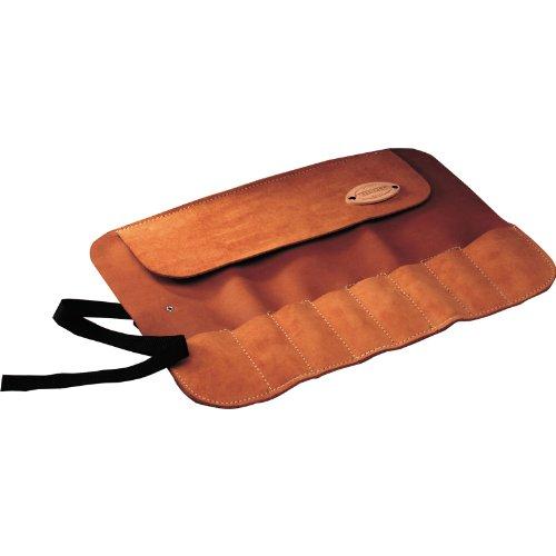 Faithfull 8 Pocket Leather Chisel & Small Tool Roll