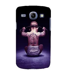printtech Cool Kid Love Mommy Back Case Cover for Samsung Galaxy J1 / Samsung Galaxy J1 J100F