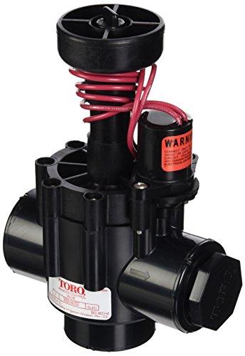Toro 252 Elektrisches Kugel-/Eckventil mit 1 Zoll NPT und Durchflussregler, 2,5 cm -