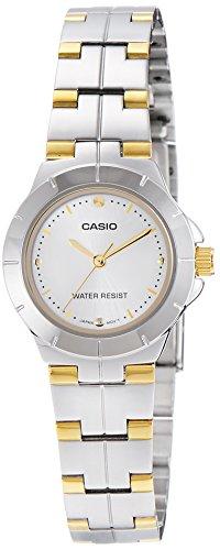 41f3yMhRPOL - Casio LTP 1242SG 7CDF A907 Enticer Silver Women watch
