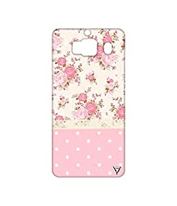 Vogueshell Dotted Flower Pattern Printed Symmetry PRO Series Hard Back Case for Xiaomi Redmi 2s