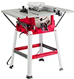 """Lumberjack TS210SL Powerful 8"""" 1500W Bench Table Saw with Sliding Side Extension"""