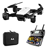 FPV Drone with 1080P HD Camera Live Video and GPS Satellite Positioning, Foldable