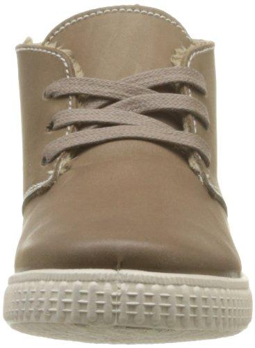 Victoria Safari Piel Tintada Pelo Kids, Unisex - Kinder Sneaker Braun - Taupe