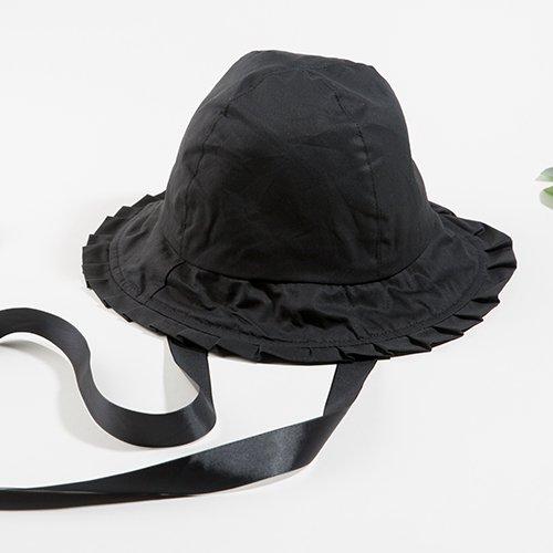 Hut Weibliche Band Mit Wilden Lotus Blatt Seite Kappe Mädchen Wind Sonnenhut Flut Kleinen Frischen Hut, Verstellbar, Schwarz Net Rot Fischer Hut (Fischer Net)