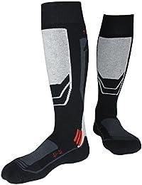 Barrageon Calcetines de Esquí de Invierno Térmico Calientes Para Esquiar, Snowboard, Senderismo, Escalada