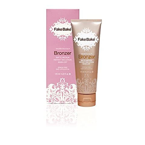 Fake Bake Bronzer Wash-Off Instant Tan 125 ml, 1er Pack (1 x 125 ml) (Tan Flawless Selbstbräuner)