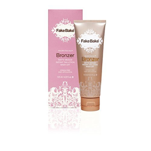 Fake Bake Bronzer Wash-Off Instant Tan 125 ml, 1er Pack (1 x 125 ml) (Wash Body Tanning)