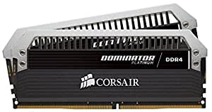 Corsair Dominator Platinum Series 16GB DDR4 DRAM 3000MHz C15 Memory Kit for Systems 3000 MT s
