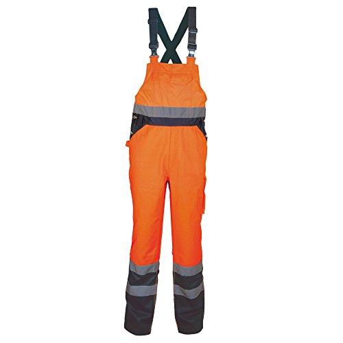 Cofra Warnschutz Latzhose Tuttle V294 Arbeitshose, S, in Signalfarbe orange, 40-00V29402-S