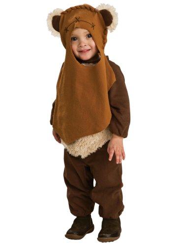 Rubies Kostüm Co. Inc Unisex Kleinkinder Ewok Fancy Kleid Kostüm Gr. 6-12 Monate , ()