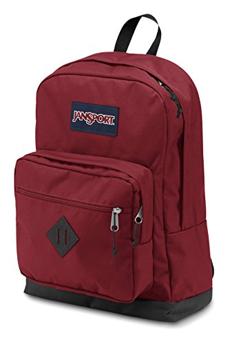 """Best jansport backpack in India 2020 JanSport City Scout 31 liters Polyester Red 15.6"""" Laptop Backpack Image 3"""