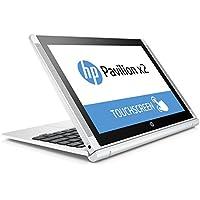 "HP Pavilion x2 10-n200ns - Portátil convertible de 10.1"" (Intel Atom Z3736F, 2 GB de RAM, Disco eMMC 64 GB SSD, Windows 10 x64), blanco nieve -Teclado QWERTY Español"