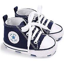 0eaf835eac884 Auxma Niedlich Kind Baby Säugling Junge Mädchen weiche Sohle Kleinkind  Schuhe Leinwand Sneak