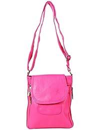 Darash Fashion Stylish Ladies Cross Body Bag Pink-Bag-112