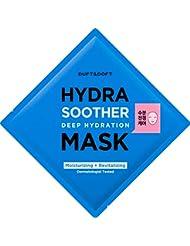 Duft & Doft Hydra Soother Deep Hydration Mask führende Koreanische Gesichtsmaske K-Beauty Dermatologisch Getestet Hautpflege Mit Langanhaltenden Frische-Effekt