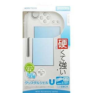 WiiU用ゲームパッド保護カバー『クリスタルシェルU クリア』