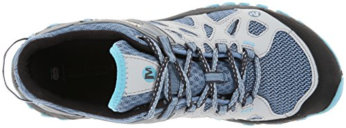 Merrell All Out Blaze Aero Sport, Scarpe da Arrampicata Donna Multicolore (Blue Heaven)