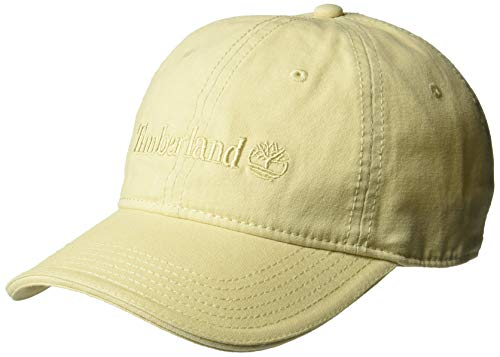 Timberland Herren Cotton Canvas Baseball Cap, Boulder/Flat Logo, Einheitsgröße -