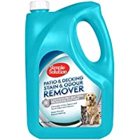 Simple Solution Patio y removedor de Manchas y olores para Mascotas, 4 L