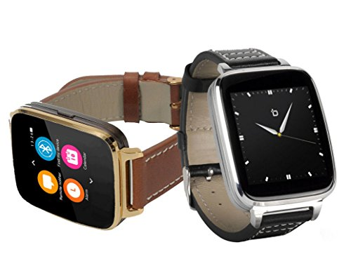 Bit Full Function Smart Watch for Apple/Android devices. Classical Elegance with Communications,...
