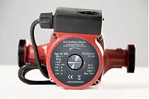 Umwälzpumpe/Heizungspumpe RS 25/6-180 Zirkulationspumpe