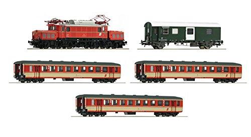 Preisvergleich Produktbild Roco 61456 Set 150 Jahre Brenner, ÖBB AC mit Sound