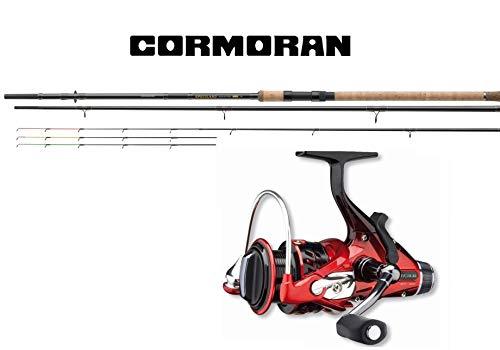 Cormoran Feedercombo Heavy 3,60m / -150g + Freilaufrolle Feederset Angelcombo