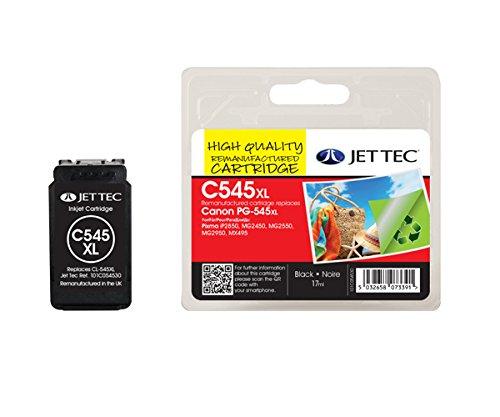 Preisvergleich Produktbild JET TEC 137C054530 Patrone PG-545 XL, schwarz